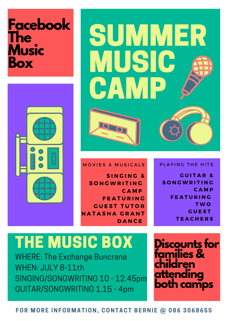 summer music camp update